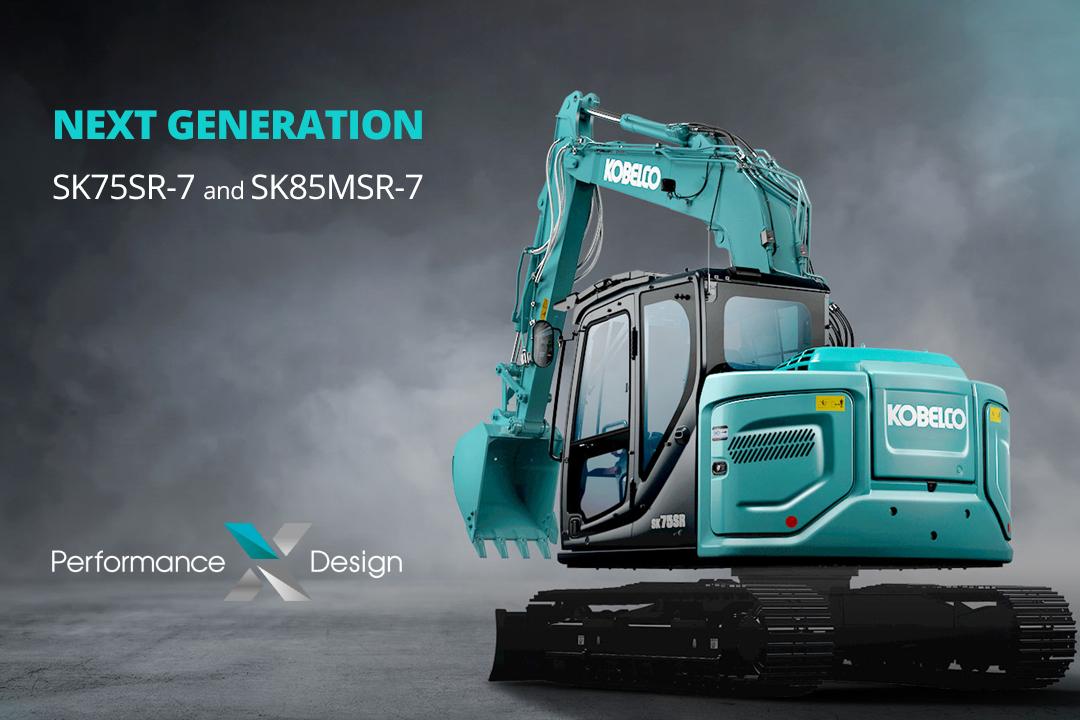 KOBELCO SK75SR - La nuova serie di escavatori 8-9 ton, made in JAPAN